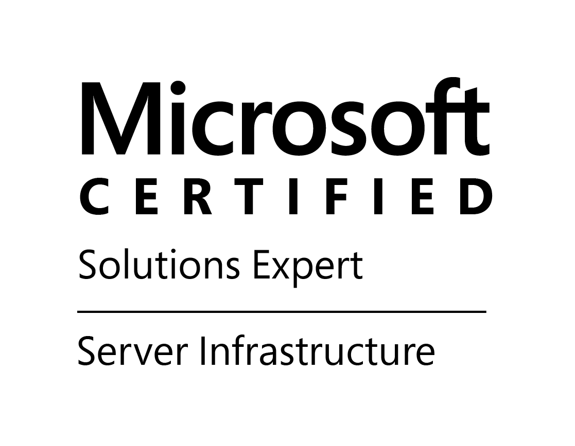 Certyfikat Microsoft Windows Server 2012