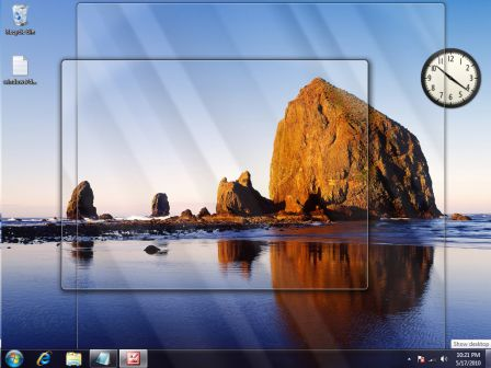 Pokaz pulpit windows7 windows 8 window 10